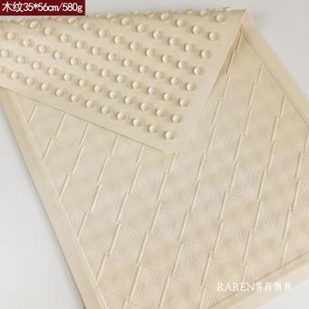 Natural Rubber hotel room bathroom anti-slip mat