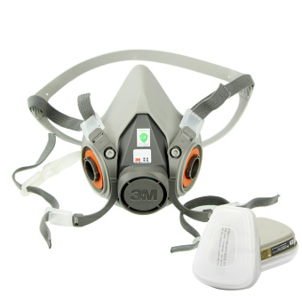 New 7 pcs Suit Respirator Painting Spraying Face Gas Mask 5N11 For 3M 6200 6001