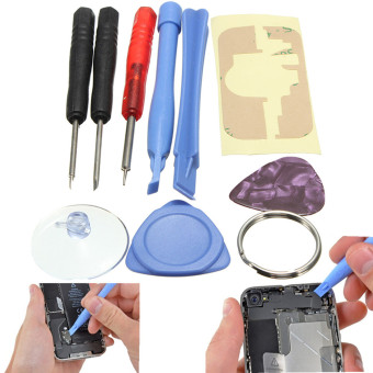 New Arrival Hot Sale Portable 9 in 1 Opening Pry Repair Screwdrivers Tools Kit For iPhone 6 5S For Samsung Note 2 - intl