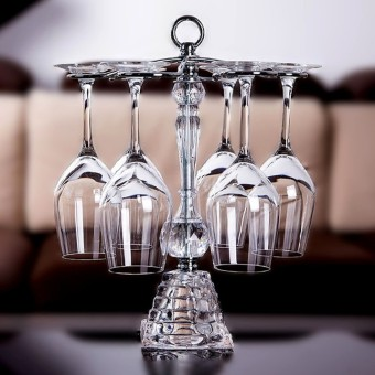 New Promotional Grape Wine Rack cup crystal glass