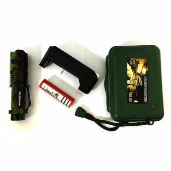 No. 98 Type Rechargeable Cree LED Flashlight (Camouflage)