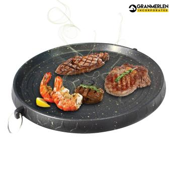 Non-Stick Stove Top Grill Japanese Gold Dots