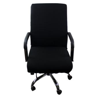 Office CHAIR COVER Large (Black)