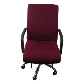 Office CHAIR COVER Medium (Maroon)
