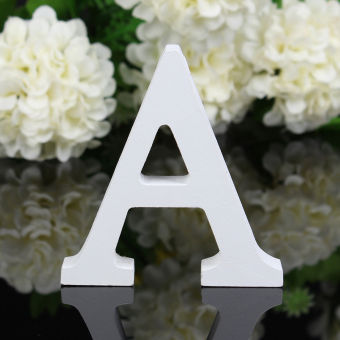Okdeals Freestanding Wood Letters Alphabet Party Home Decorations A