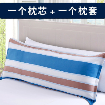 One-piece double Long Hotel neck pillow double pillow