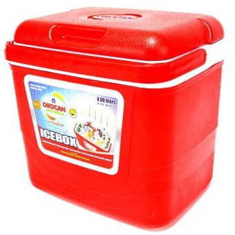 Orocan 9208 Ice Cooler 8 Liters Box (Red)
