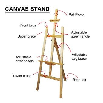 Painting Supplies Easel Stand Large