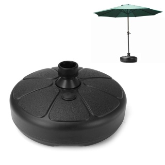 Parasol Umbrella Base Stand Patio Furniture Outdoor Garden Fill With Water/Sand - intl