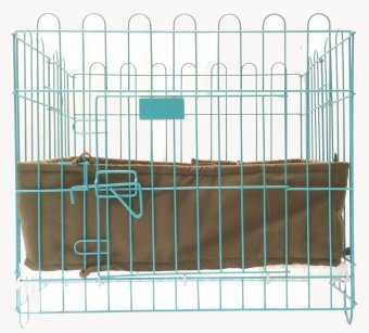 Pet Depot Cushioned Border for Small Crates (Olive Drab)