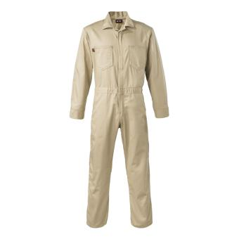 Plain Coverall overall khaki cotton twill
