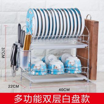 Plastic dishes cabinet dish rack