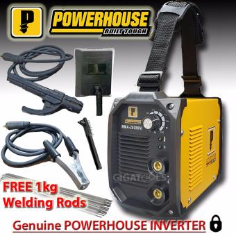 Powerhouse 200A Portable Inverter Welding Machine (100% Copper) with FREE Welding Rod