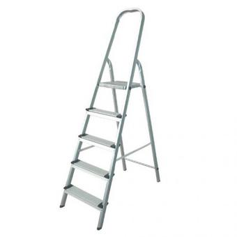 Prostar 4 Step Aluminum Step Ladder (Silver)