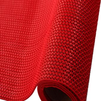 Prostar S Matting (1 Meter Long x 1.2 Meter Wide) PVC Anti SlipRubber Matting (Red) Price Philippines