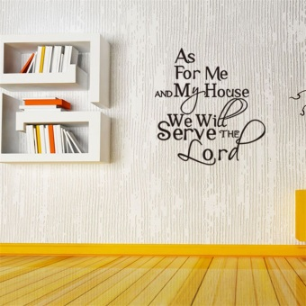 Proverbs Bible English wall sticker