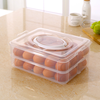 Refrigerator egg storage quick-frozen tray freshness box