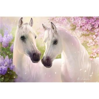 Rhinestone Art FULL! Majestic White Horses (premium beads) Price Philippines