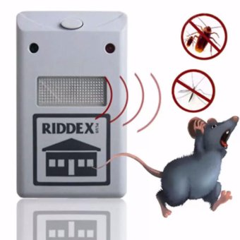 Riddex Plus Electronic Pest & Rodent Repeller New (us plug)