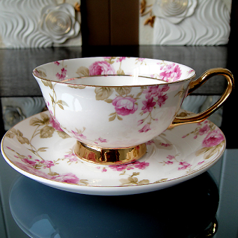 Royal European British PARK'S cup and saucer bone china cup