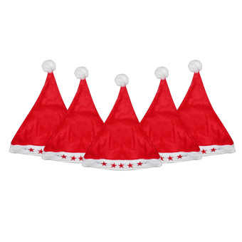 Santa Hat with Light Set of 5 Price Philippines