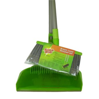 Scotch-Brite Broom Comb-Dustpan Set (Green) Price Philippines