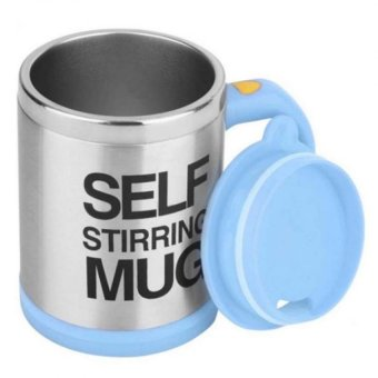 Self Stirring Mug (Light Blue)