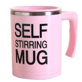 Self Stirring Mug Version 3.0 (Pink)