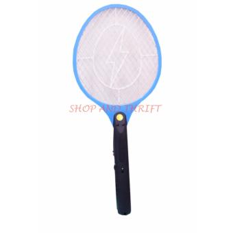 SHOP AND THRIFT #106 ELECTRIC MIDGES TAKE SMALL LIGHTNING MOSQUITTOKILLER FLY SWATTER