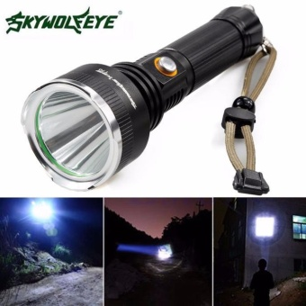 Sky Wolf 5000 LM CREE XM-L T6 LED Flashlight 18650 Torch Flashlight 5Modes - intl