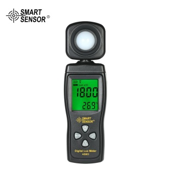 SMART SENSOR Mini Digital Lux Meter LCD Display HandheldIlluminometer Luminometer Photometer Luxmeter Light Meter 0-200000Lux - intl Price Philippines