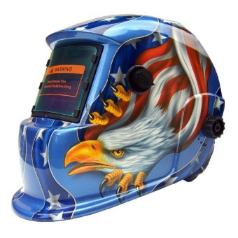 Solar Auto Darkening Welding Helmet ARC TIG MIG Mask For Welding Grinding Mask Eagle