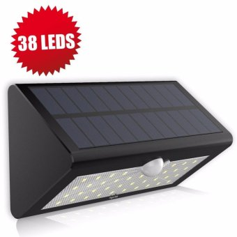 Solar Motion Sensor Light Super Bright 38 LED Solar Powered Wireless Water-proof Motion Activated Solar Energy Home Office Security Light - intl