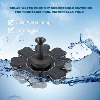 Solar Water Pump Kit Submersible Watering for Fountains Pool Waterfalls Pond - intl