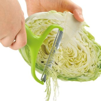 Stainless Steel Cabbage Potato Vegetable Peeler Graters Slicer Cutter - intl