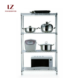 Stainless steel color oven microwave oven shelf storage rack