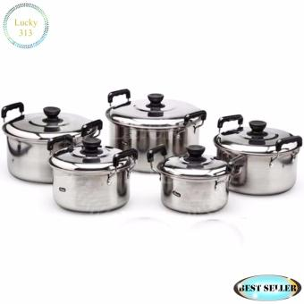 Stainless Steel Cookware Stockpot sets 5pcs