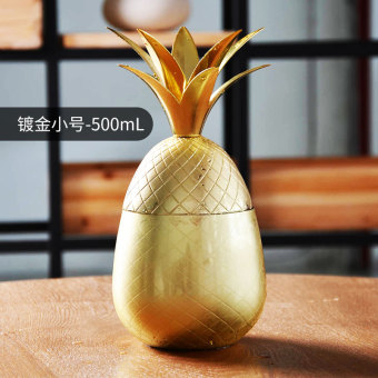 Stainless steel Pineapple chicken tail wine cup