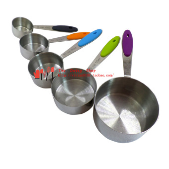 Stainless steel sets of measuring cup