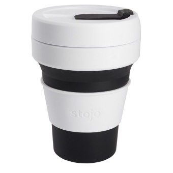 Stojo Collapsible Cups Black 12 oz.