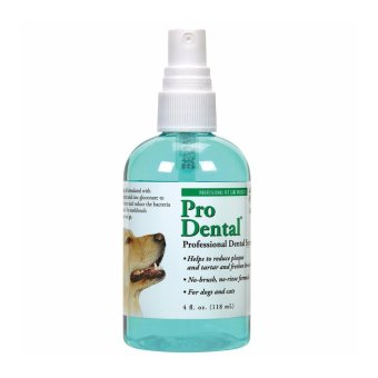 Top Performance ProDental Dental Spray -- Easy-to-Use Spray forCleaning Pets' Teeth, 4 oz.