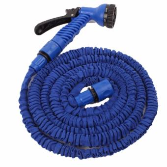 Trendsetter Newest Expandable Garden Hose up to 25ft,PremiumLightweight and Durable Expandable Hose for all watering needs-Blue