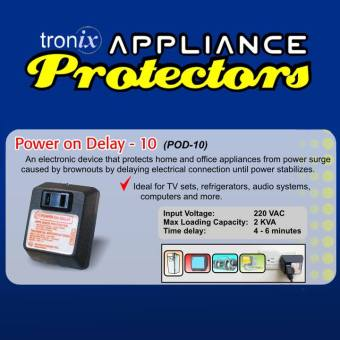 Tronix POD10 / Power on Delay / Appliance Protector