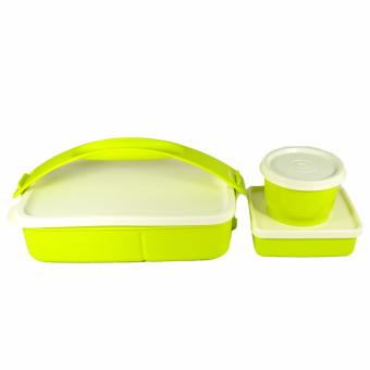 Tupperware Click to Go Lunch Set 3 pcs. Margarita