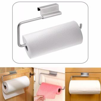 Ultralite Over the Cabinet Door Paper Towel Roll Holder, Stainless Steel