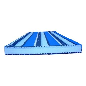 Uratex Mattress with Thin Cotton Cover 3x36x75 (Blue)
