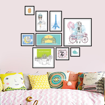 Wall stickers New style combination photo wall frame