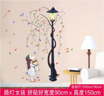 Wall wallpaper posters on the wall stickers(Width of 90CM * highabout 150CM, posted good) - intl