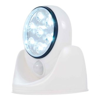 Wireless Motion LED Sensor Light (White) Price Philippines