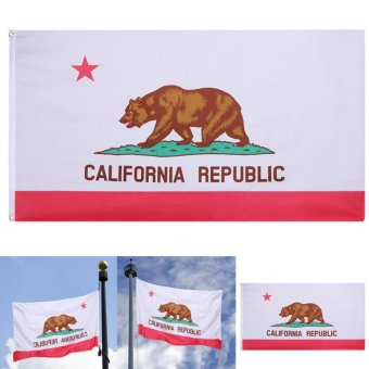WONDERSHOP 3 x 5 Ft California State Flag Grommets Indoor OutdoorAmerica Polyester Banner - intl Price Philippines